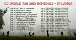 ICC Twenty20 World Cup 2012 Match Schedule