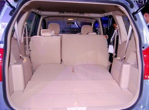 Maruti's MPV Ertiga: 3 row, 7 seater Interior Pictures