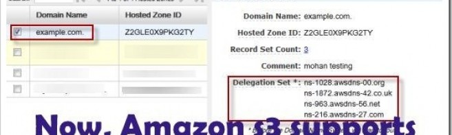 Amazon S3 Root Domain support launched!