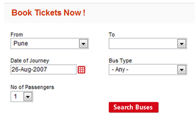 Booking Window RedBus