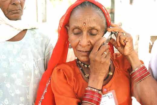 Rural India mobile