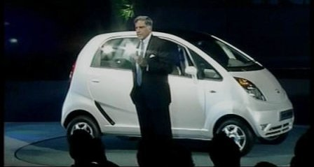 Tata Nano 1 lac car in INdia