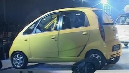 Tata Nano 1 lakh car in INdia by Ratan Tata