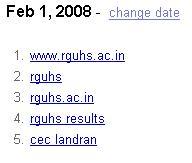 Google India February 1st trends