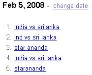 Google India February 5th trends