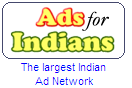 Ads for INdians logo