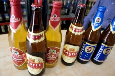 Indian Beer Bottles