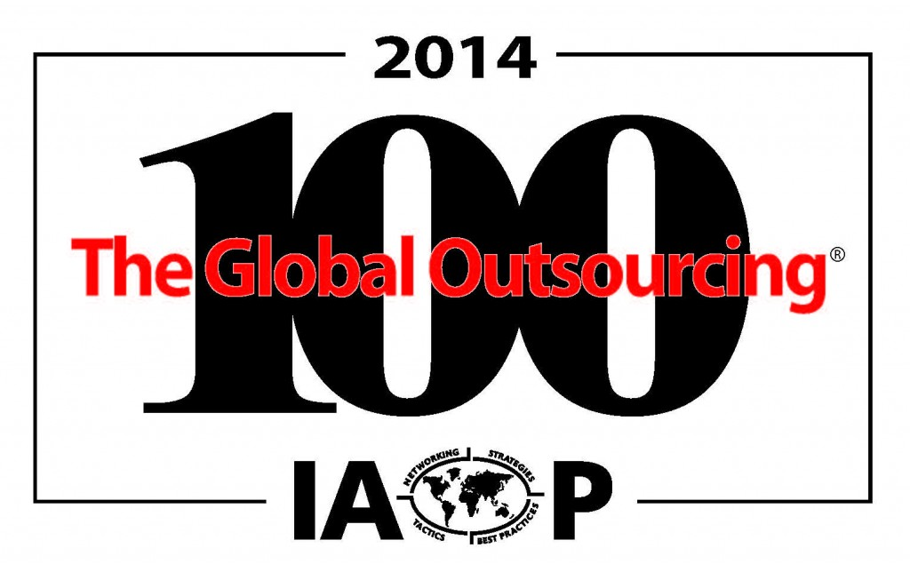 Top 100 outsourcing companies 2014