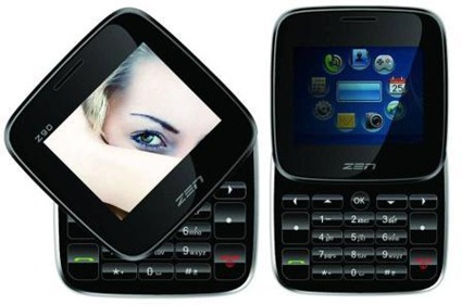 Square Mobile Handset Z90