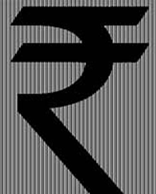 New Indian Rupee symbol