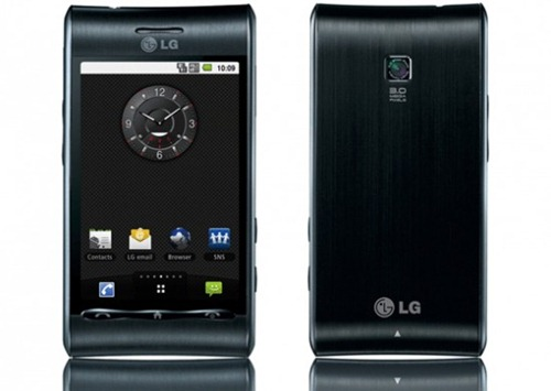 The LG GT540 Optimus is the second Android phone from LG to be