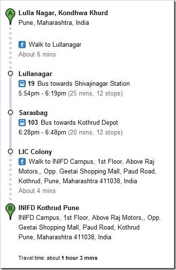 Google-transit-directions