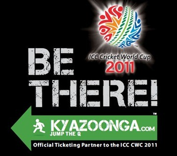 ICC cricket world cup 2011 tickets