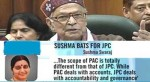 JPC probe in 2G scam – thousand of crores lost on stalled Parliamentary proceedings!