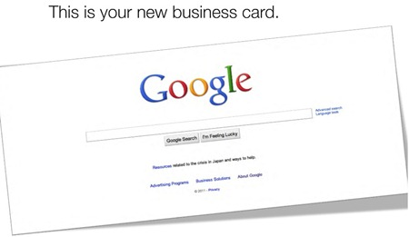 Google Business Card It's Time to transform your marketing!