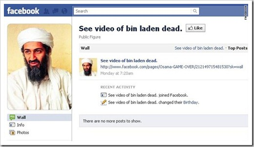 Spam Bin Laden Messages