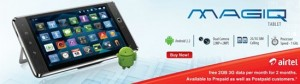Bharti's Beetel Magiq Tablet launched at 9900!