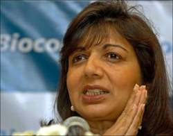 kiran mazumdar shaw | Top 10 Indian businesswomen of 2011!