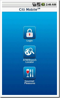 Citi Mobile | 5 Indian Banks having their own iPhone/Android Apps!