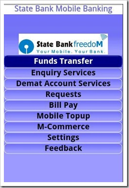 SBI freedom | 5 Indian Banks having their own iPhone/Android Apps!