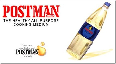 postman cooking oil
