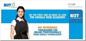 Google launches Web Academy in India with NIIT