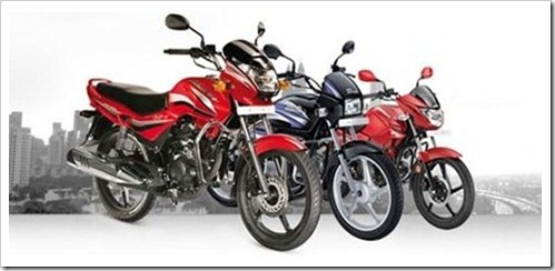 Two wheeler Sector in Red for first time since 2009