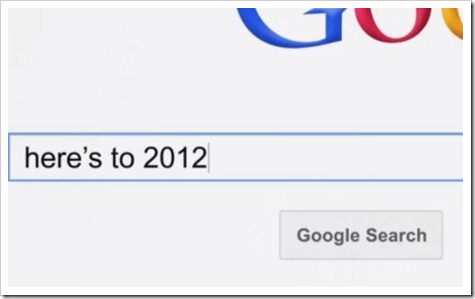 2012 google searches
