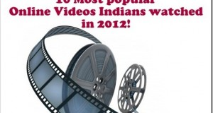 10 Most Popular Online Videos Indians watched in 2012!