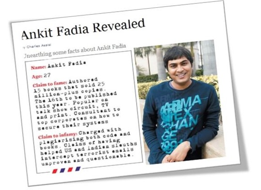 Ankit Fadia revealed