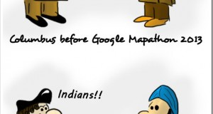 Google Mapathon 2013 [Trak.in Toons]