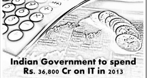 Indian Government's IT Spending pegged at Rs. 36,800 Cr in 2013 [Report]