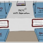 Free WiFi Access for Indian Railways [Trak.in Toons]