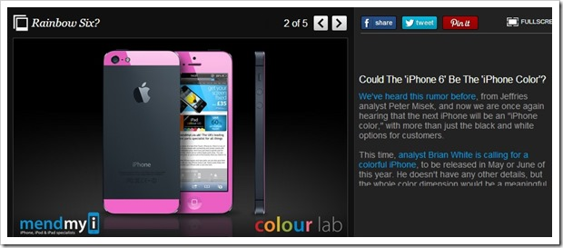Colorful iPhone | Apple Releasing Colourful iPhones? Desperation?