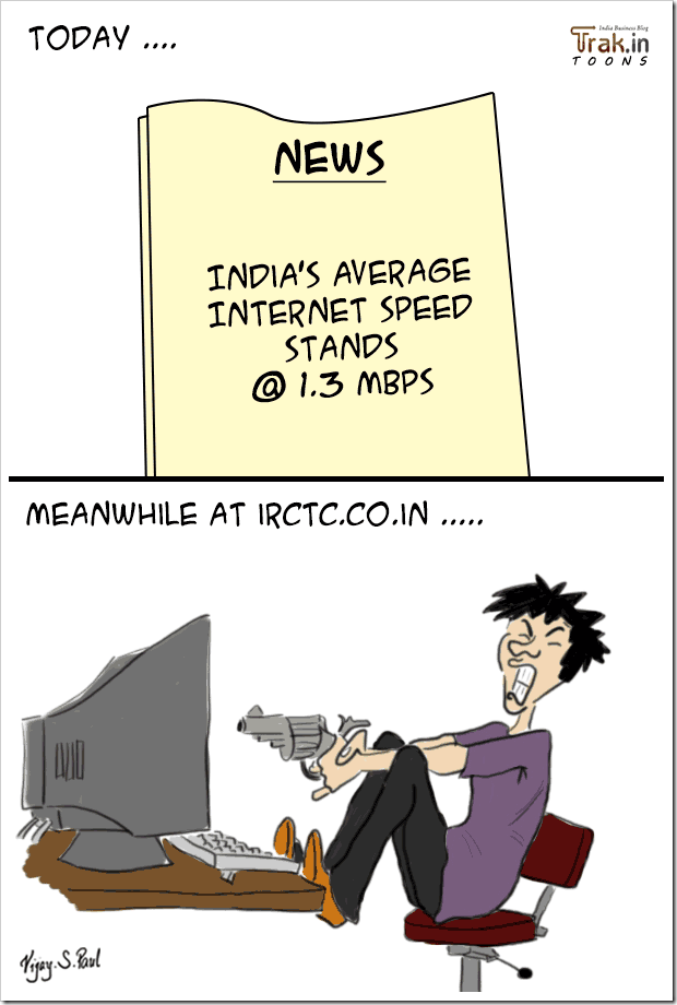 Guess even if India had fastest average internet speeds – The following scenario will always remain the same… Ain't it?