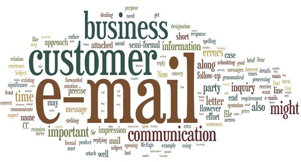 Customer business email