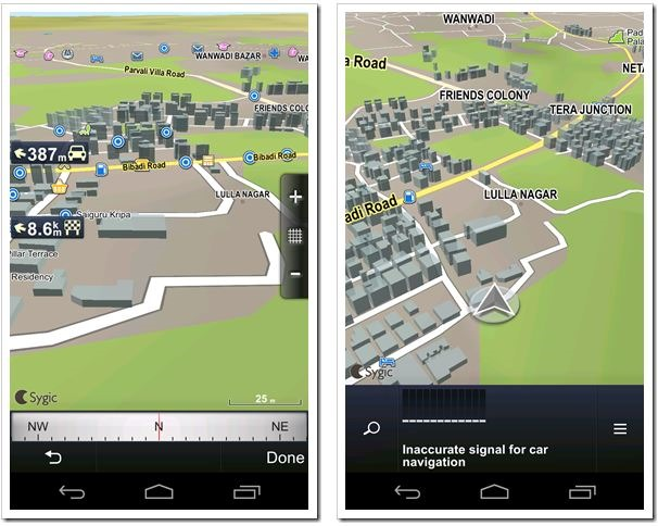 Sygic Brings Free Offline 3D Navigation In India For Android Devices