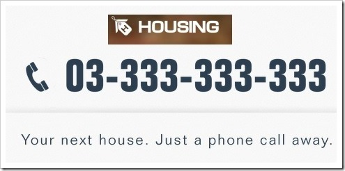 Housing.co.in has spent USD 1 million on a .COM Domain Name & Easy To Remember National Number. This is great move by Housing.com founders