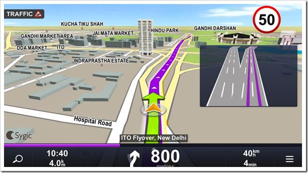 sygic india map download Sygic Brings Free Offline 3d Navigation In India For Android Devices sygic india map download