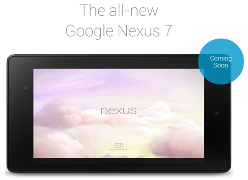 Nexus 7 coming soon