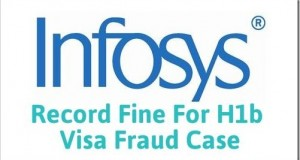 Infosys Slapped With Record Fine For US VISA Fraud Case