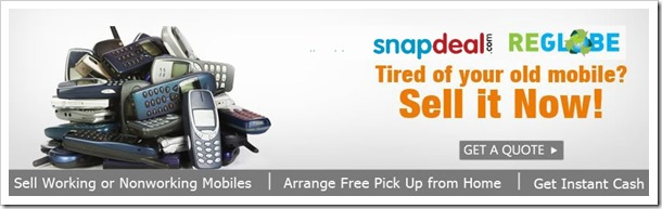 ae0bb6e4e Snapdeal Partners With ReGlobe To Buy Used Mobile Handsets!