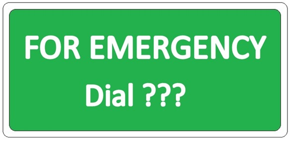 Emergency Number-001