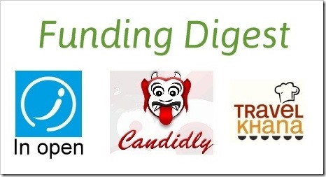 Funding Digest: TravelKhana, InOpen, Candidly Raise Investments
