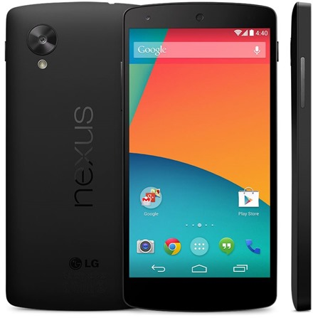 Nexus 5 Front back side