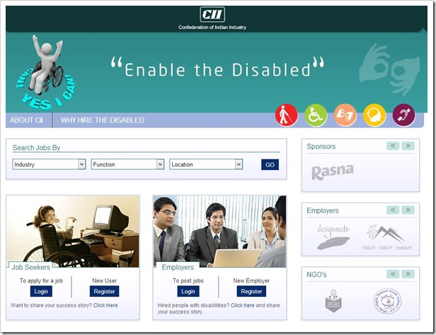 CII Launches Job Portal For Specially-abled People In Partnership With Monster