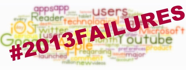Top 5 Global Technological Failures of 2013