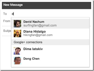 Compose Email Google