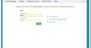 IRCTC Brings Lightweight Web Version For Tatkal Bookings!
