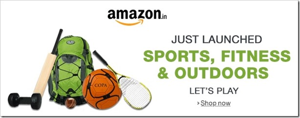 Amazon.in Categories Swell, Sports & Fitness Store Gets Added